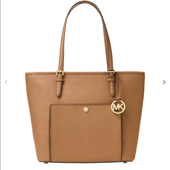 MICHAEL Michael Kors Handbags - NWT Michael Kors Jet Set leather tote purse.